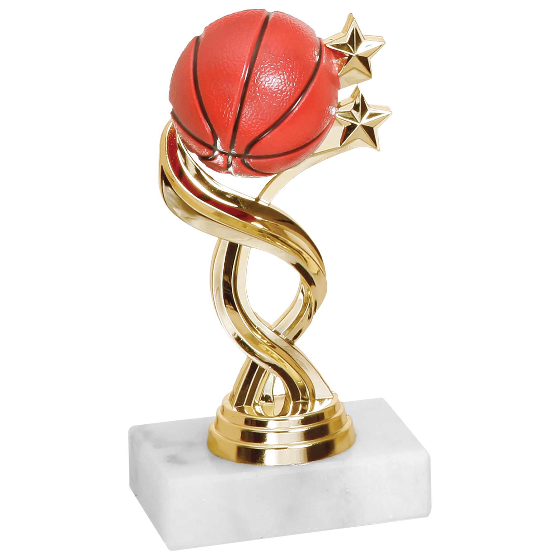 Twisted Basketball Trophy | Best Tallahassee Sign Company